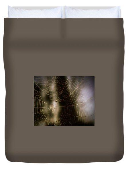 Jeweled Weaver Duvet Cover