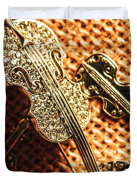 Jewellery Concerto Duvet Cover