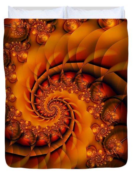 Jewels Of Autumn Duvet Cover