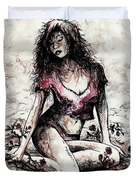 Jezebel Duvet Cover by Rachel Christine Nowicki