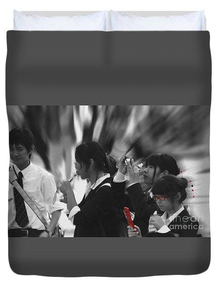 Jidai Matsuri Viii Duvet Cover