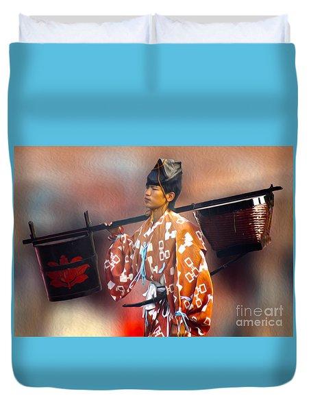 Jidai Matsuri Xxv Duvet Cover