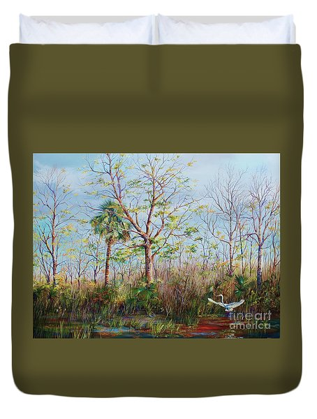 Jim Creek Lift Off Duvet Cover