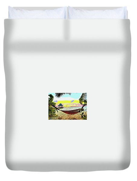 Jimmy Buffett's Margaritaville Duvet Cover