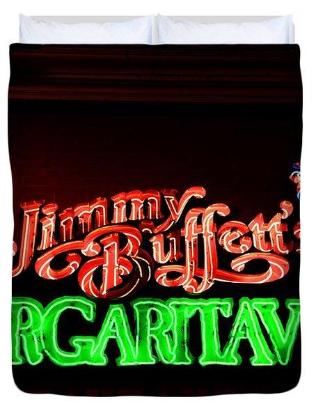 Jimmy Buffett's Margaritaville Duvet Cover