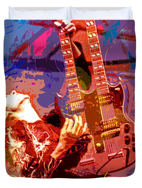Jimmy Page Stairway To Heaven Duvet Cover