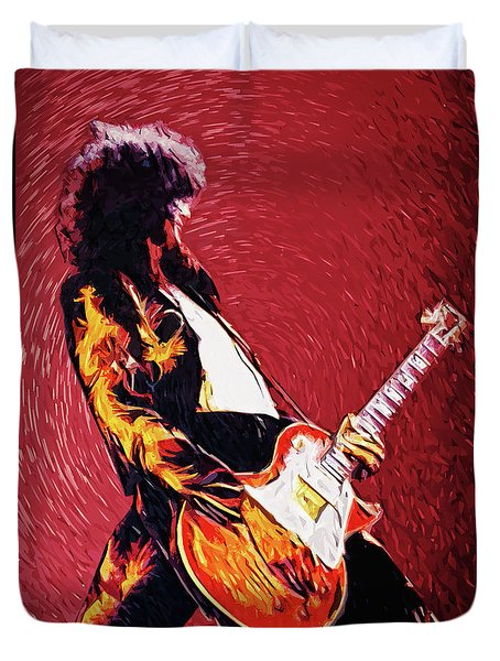 Jimmy Page  Duvet Cover