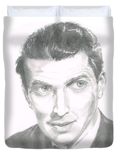 Jimmy Stewart Duvet Cover