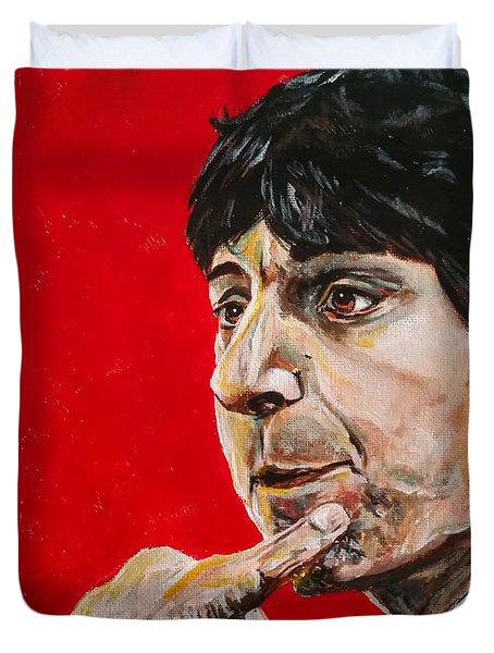 Jimmy V Duvet Cover