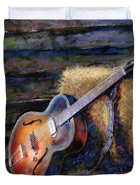 Jim's Guitar Duvet Cover
