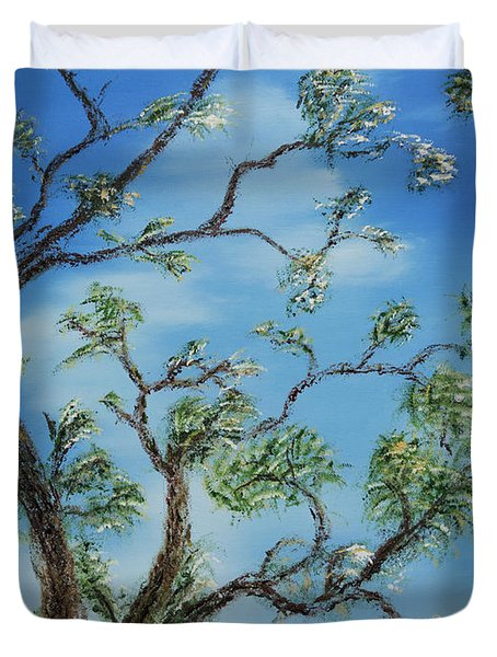 Jim's Tree Duvet Cover