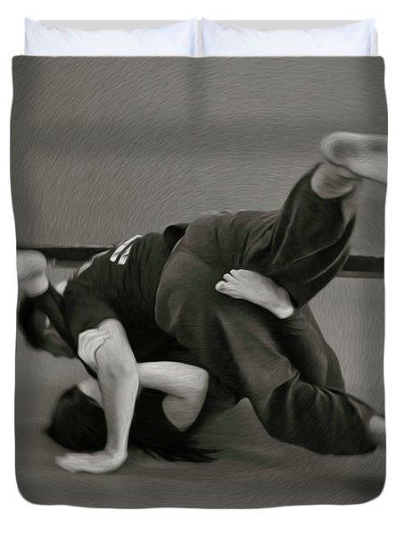 Jiu Jitsu Duvet Cover