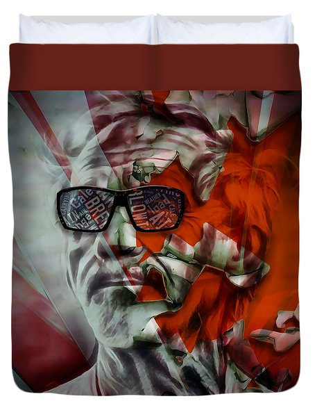 Jj Cale The Call Me The Breeze Duvet Cover