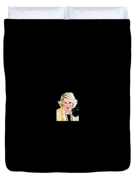 Joan Rivers Duvet Cover