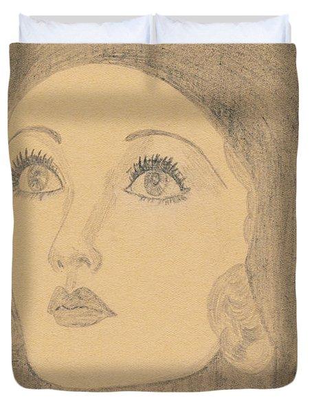 Joanne Bennett  Duvet Cover