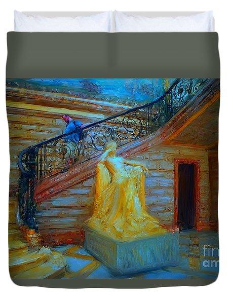 Job Chateau Perpignan Duvet Cover