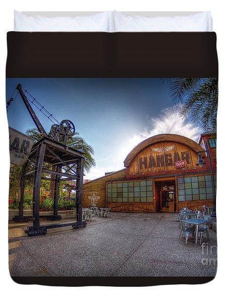 Jock Lindsey's Hangar Bar Duvet Cover