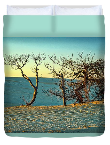 Jockey Ridge Sentinels Duvet Cover