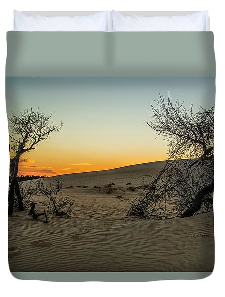 Jockey's Ridge View Duvet Cover