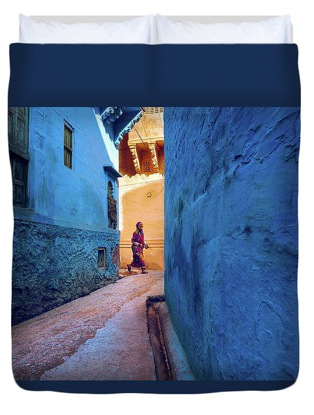 Jodhpur Colors Duvet Cover