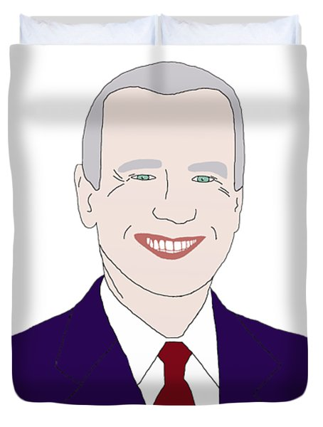 Joe Biden Duvet Cover