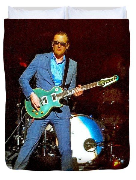 Joe Bonamassa - Live Performance In Eugene Oregon. 2 Duvet Cover
