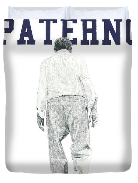 Joe Paterno Duvet Cover