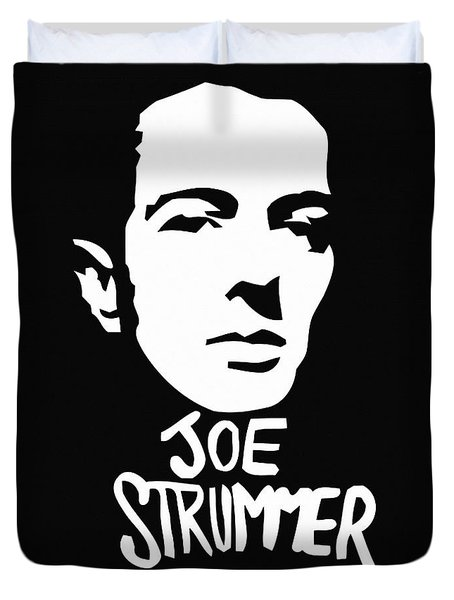 Joe Strummer Duvet Cover