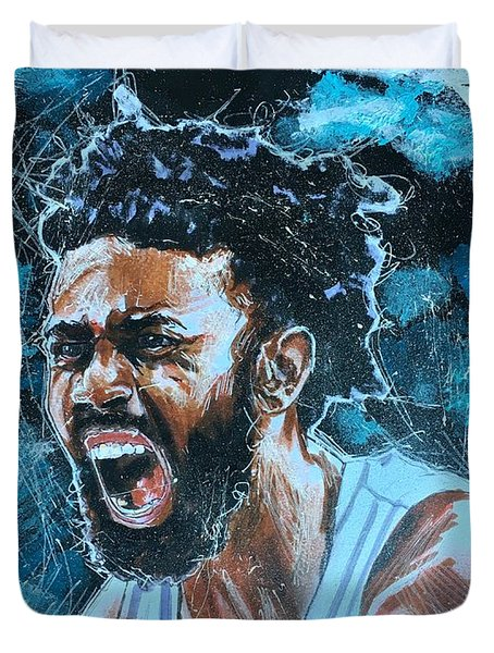Joel Berry II Duvet Cover
