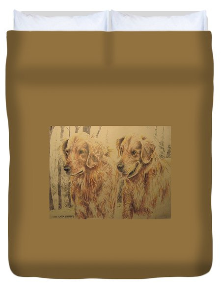 Joe's Dogs Duvet Cover