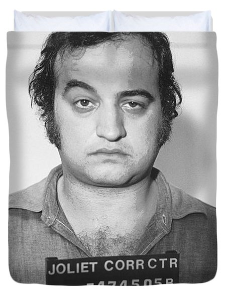 John Belushi Mug Shot For Film Vertical Duvet Cover