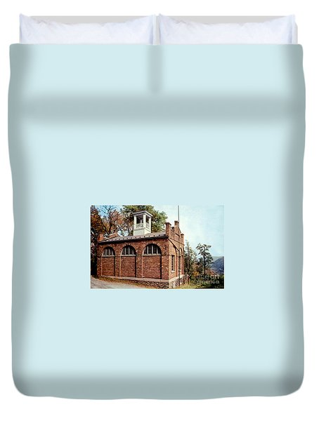 John Browns Fort  Duvet Cover by Ruth  Housley