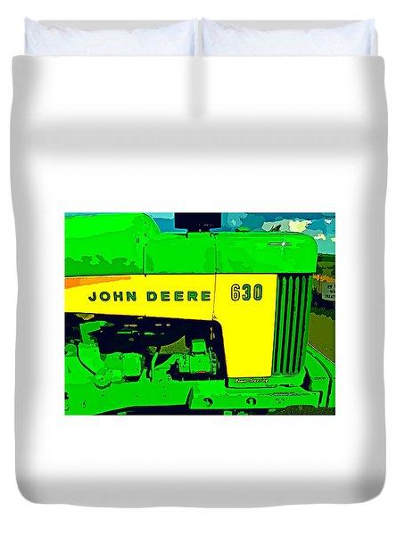 John Deere 630 Duvet Cover by John Gerstner