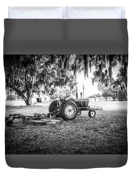 John Deere Ready To Mow Duvet Cover by Scott Hansen