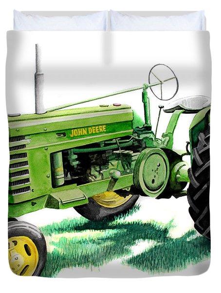 John Deere Tractor Duvet Cover