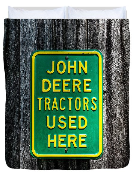 John Deere Used Here Duvet Cover