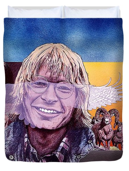 John Denver Duvet Cover