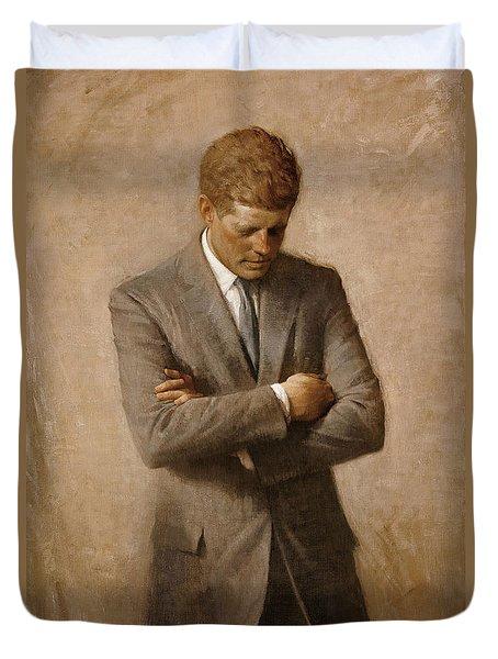 John F Kennedy Duvet Cover