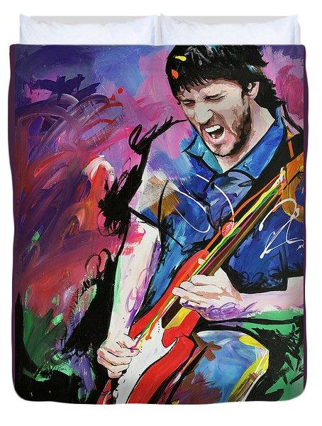 John Frusciante Duvet Cover by Richard Day