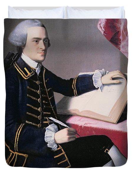John Hancock Duvet Cover by John Singleton Copley