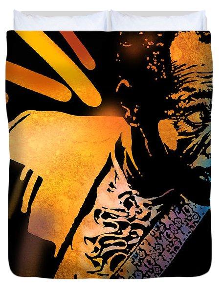 John Hooker Duvet Cover by Paul Sachtleben