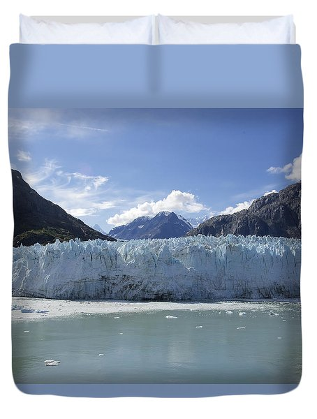 John Hopkins Glacier 14 Duvet Cover