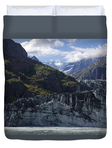 John Hopkins Glacier 15 Duvet Cover