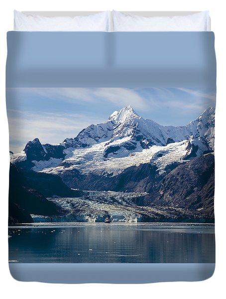 John Hopkins Glacier 3 Duvet Cover