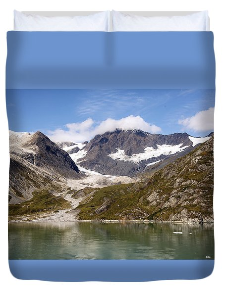 John Hopkins Glacier 5 Duvet Cover