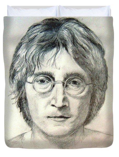 John Lennon Imagine Duvet Cover