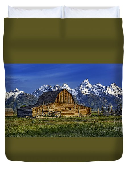 John Moulton Barn 2 Duvet Cover