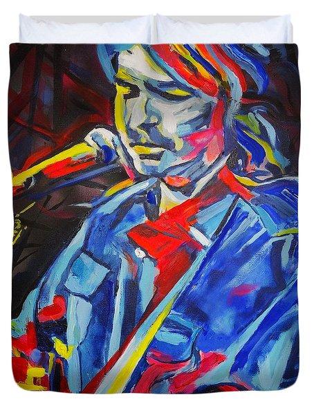 John Prine #3 Duvet Cover