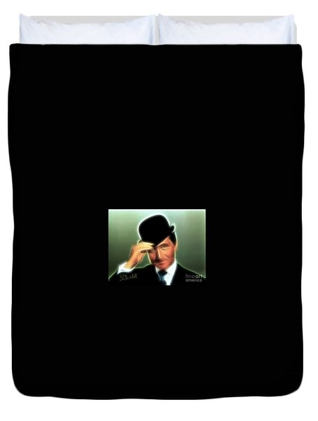 John Steed Duvet Cover