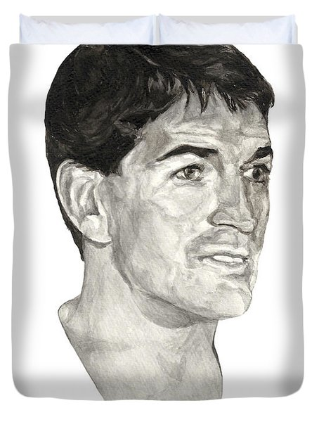 John Stockton Duvet Cover by Tamir Barkan